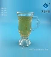 120ml果汁玻璃把子杯
