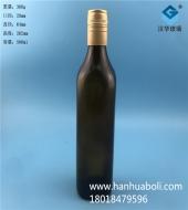 500ml方形茶色黄酒玻璃瓶