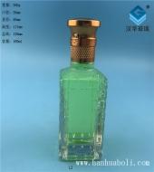 100ml长方形厚底玻璃小酒瓶