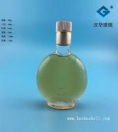 100ml扁圆玻璃小酒瓶