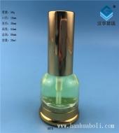 20ml电镀金盖喷雾香水玻璃瓶