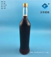 750ml出口白兰地玻璃酒瓶