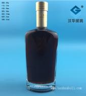 500ml长方形玻璃扁酒瓶