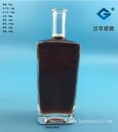 450ml木塞口长方形玻璃酒瓶