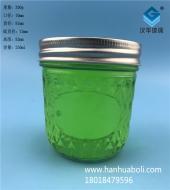 250ml钻石蜂蜜玻璃瓶