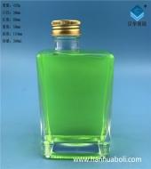 300ml方形丝口玻璃奶瓶
