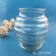 300ml螺纹玻璃烛台