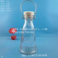 500ml手提牛奶玻璃瓶