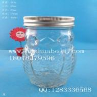 400ml猫头鹰蜂蜜玻璃瓶
