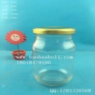 340ml圆形蜂蜜玻璃瓶
