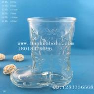 450ml啤酒玻璃鞋杯