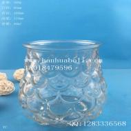 450ml鱼鳞玻璃烛台