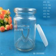 100ml心形布丁玻璃瓶