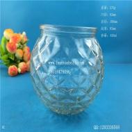 450ml菱形玻璃烛台