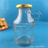 250ml出口果汁玻璃饮料瓶