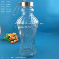 960ml出口玻璃手提水杯