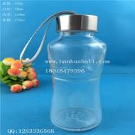 270ml玻璃手提水杯