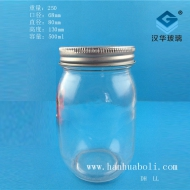 500ml圆蜂蜜玻璃瓶