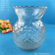 600ml玻璃菠萝烛台