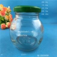 200ml椭圆形酱菜玻璃瓶