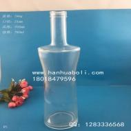 750ml收腰橄榄油玻璃瓶
