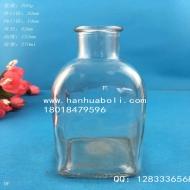 250ml方形玻璃香薰瓶