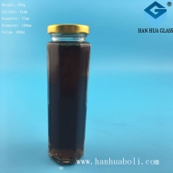 180ml细高六棱蜂蜜玻璃瓶