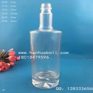 450ml晶白料厚底玻璃酒瓶
