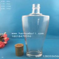 590ml白酒玻璃瓶