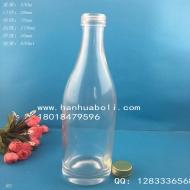 500ml晶白料白酒玻璃瓶