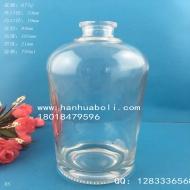750ml晶白料白酒玻璃瓶