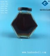 180ml六棱蜂蜜玻璃瓶