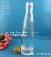 300ml果醋玻璃酒瓶