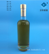 500ml圆形玻璃酒瓶