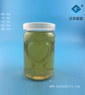 220ml心形布丁玻璃瓶