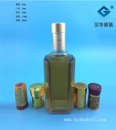 500ml八面玻璃白酒瓶