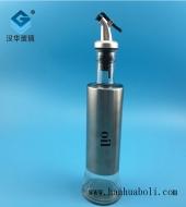 300ml不锈钢橄榄油玻璃瓶
