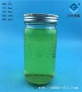600ml出口玻璃蜂蜜罐