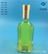 500ml方形玻璃酒瓶
