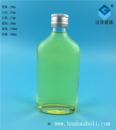 200ml玻璃扁酒瓶