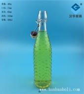 500ml卡扣酵素玻璃瓶