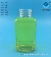 360ml长方形蜂蜜玻璃瓶