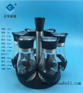 100ml黑色盖胡椒粉玻璃瓶套装