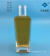 500ml长方形玻璃酒瓶