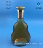 700ml扁葫芦洋酒玻璃瓶