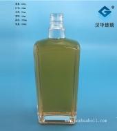 500ml长方形玻璃白酒瓶