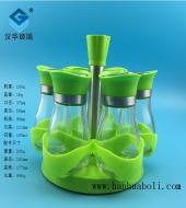 100ml绿色盖胡椒粉玻璃瓶