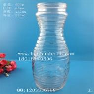 900ml出口玻璃牛奶瓶