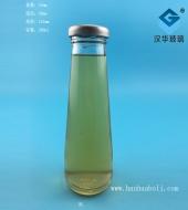 200ml锥形饮料玻璃瓶